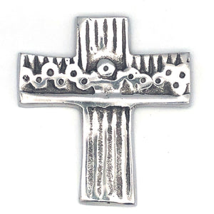 Recycled Aluminum Last Supper Cross