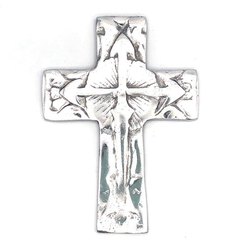 Recycled Aluminum Cross with Arrows