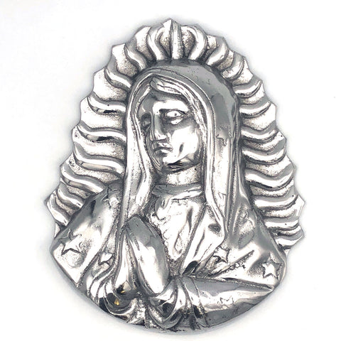 Recycled Aluminum Virgin Mary