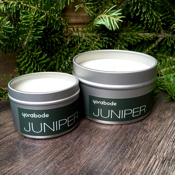 Juniper Candle - 2 oz