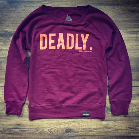 Deadly Crew Neck (women's)