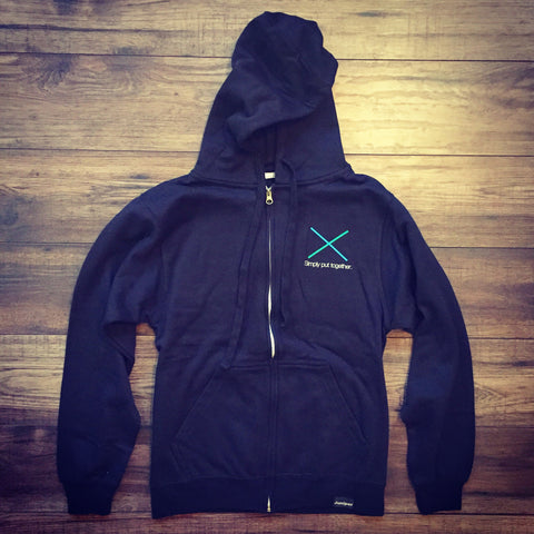 X Zip Hoodie (LARGE ONLY)