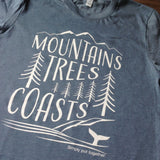 Mountains Trees Coasts (unisex)