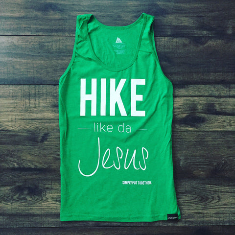 Hike Like Da Jesus