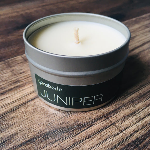 Juniper Candle 4 oz