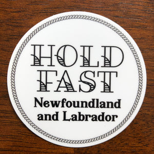 Hold Fast Sticker