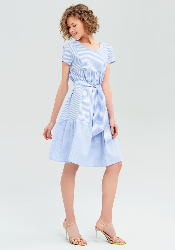 Midi dress with bow-FRACOMINA-FR20SM404