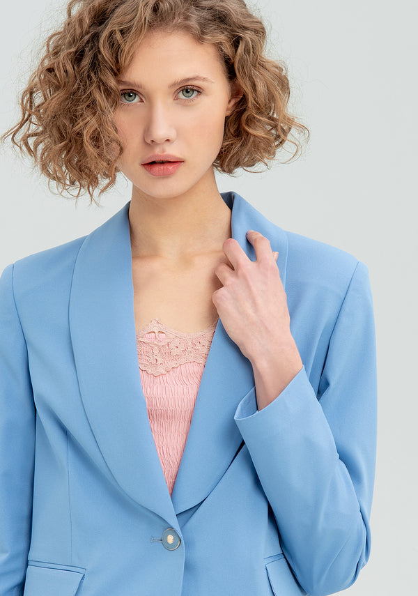 Blazer with button-FRACOMINA-FR20SM610