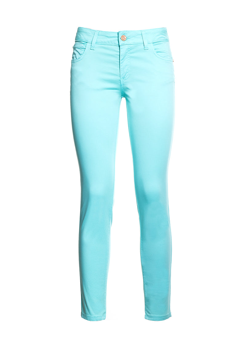 Long skinny fit trousers