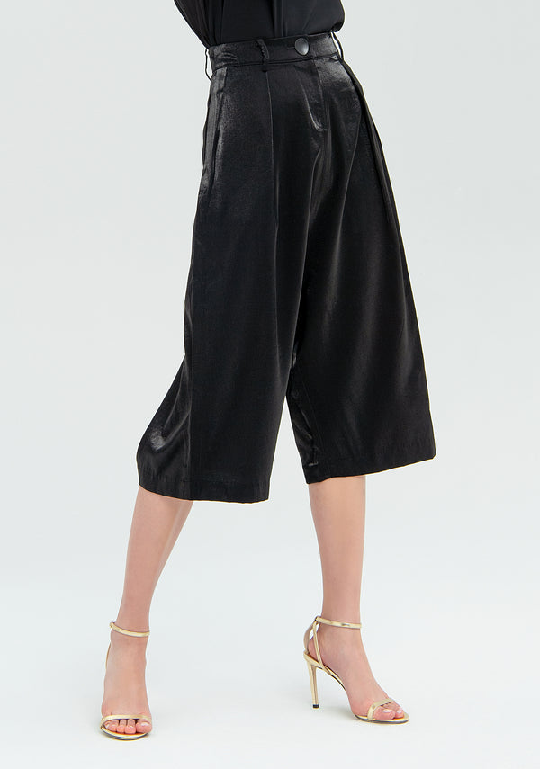 Chenille cropped trousers-FRACOMINA-FR20SMGIORGIANA