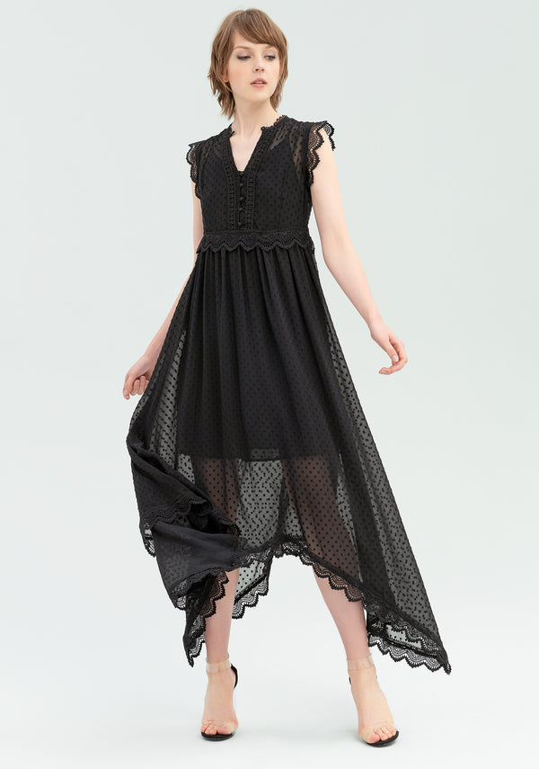 Long lace dress-FRACOMINA-FR20SP545
