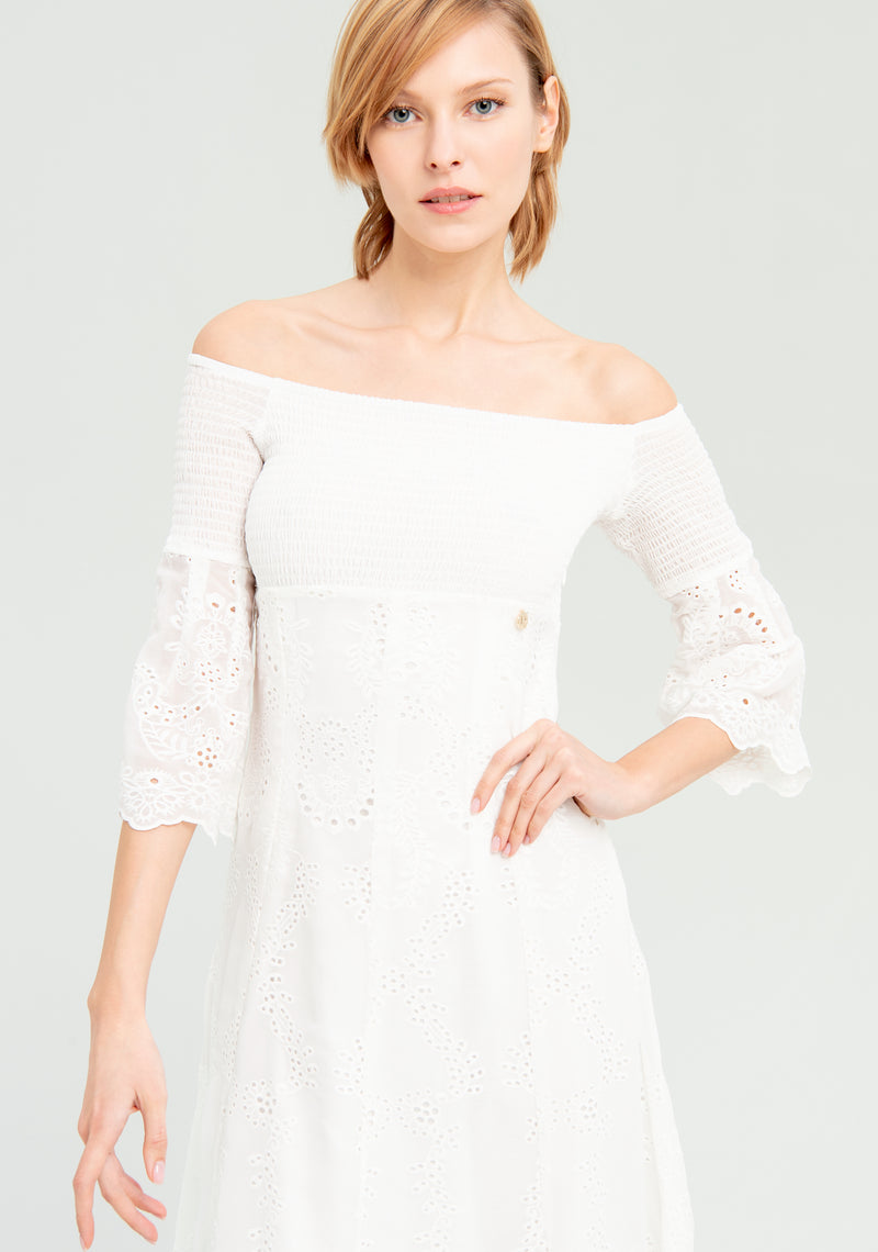 Lace Dress-FRACOMINA-FR20SP556