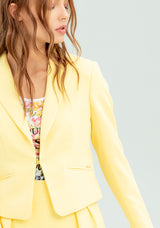 Cropped blazer with pockets-FRACOMINA-FR20SP672