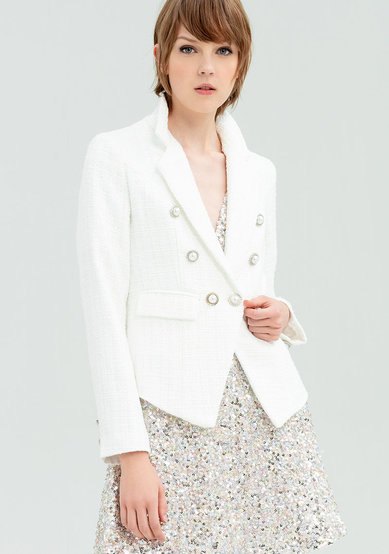Waisted double-breasted blazer-FRACOMINA-FR20SP731