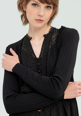Ribbed cardigan with belt-FRACOMINA-FR20SP8005