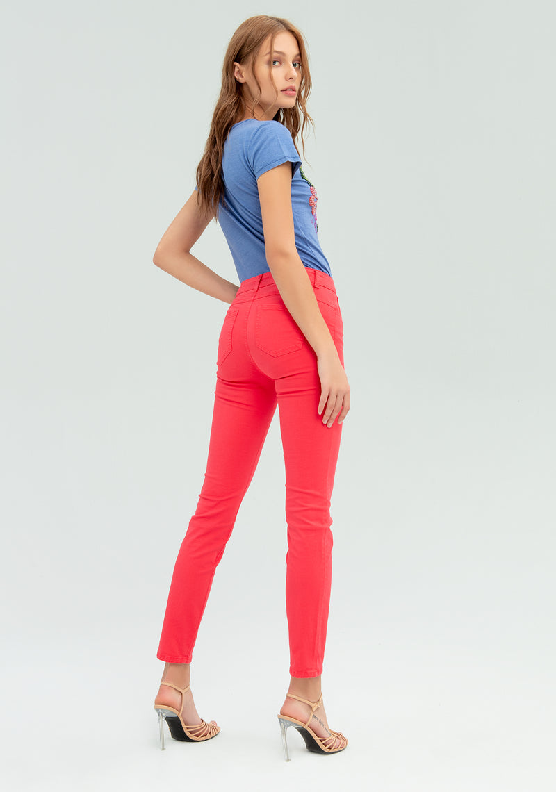Five pocket skinny trousers-FRACOMINA-FR20SPCTINA14