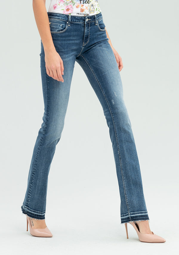 Shape up bootcut jeans