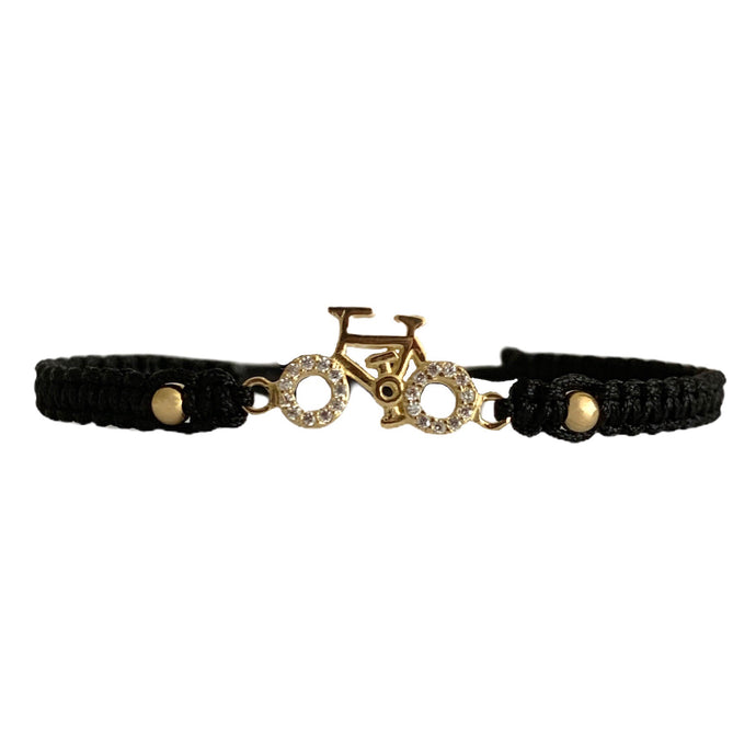 Pulsera Bicicleta Exclusive Oro 18 Kilates