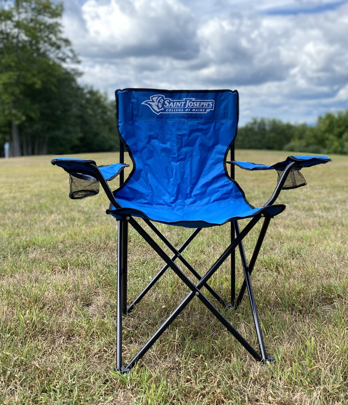 Royal Blue Folding Chair