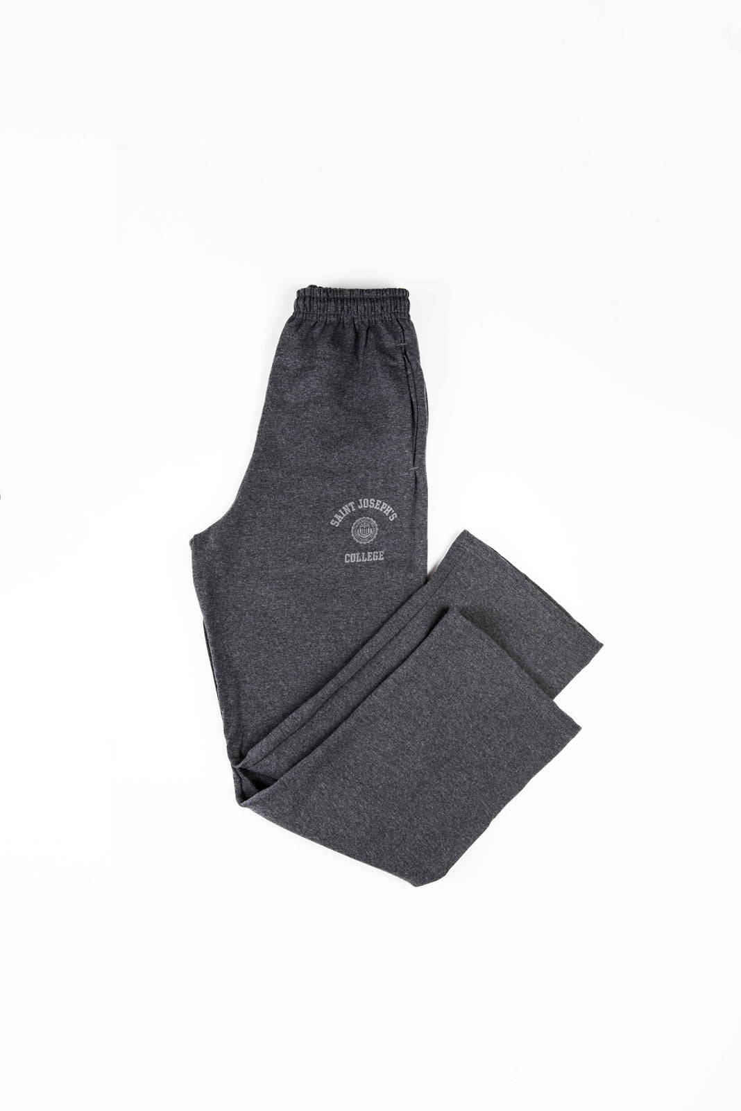 Grey SJC Crest Straight Leg Sweatpants