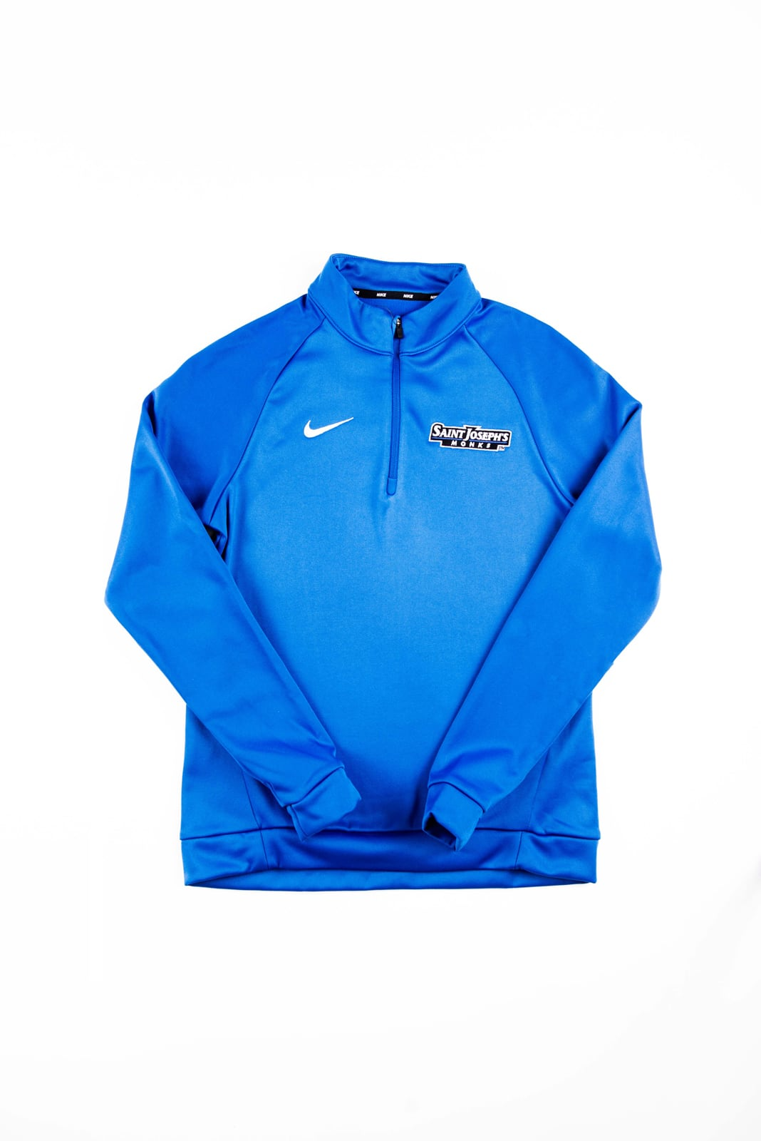 Blue Women's Nike Dri-Fit Training Quarter Zip