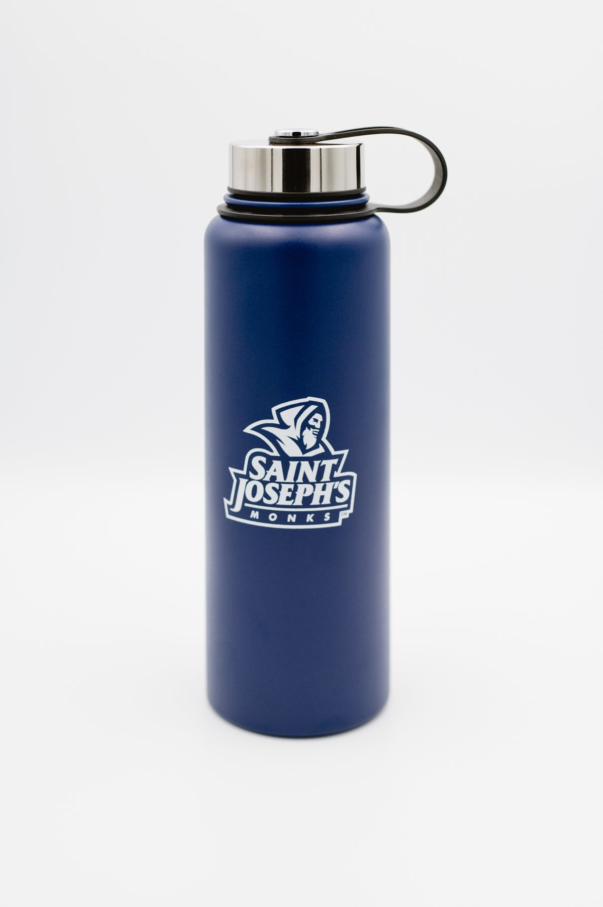 Navy Stainless Steel Water Bottle (36 oz)