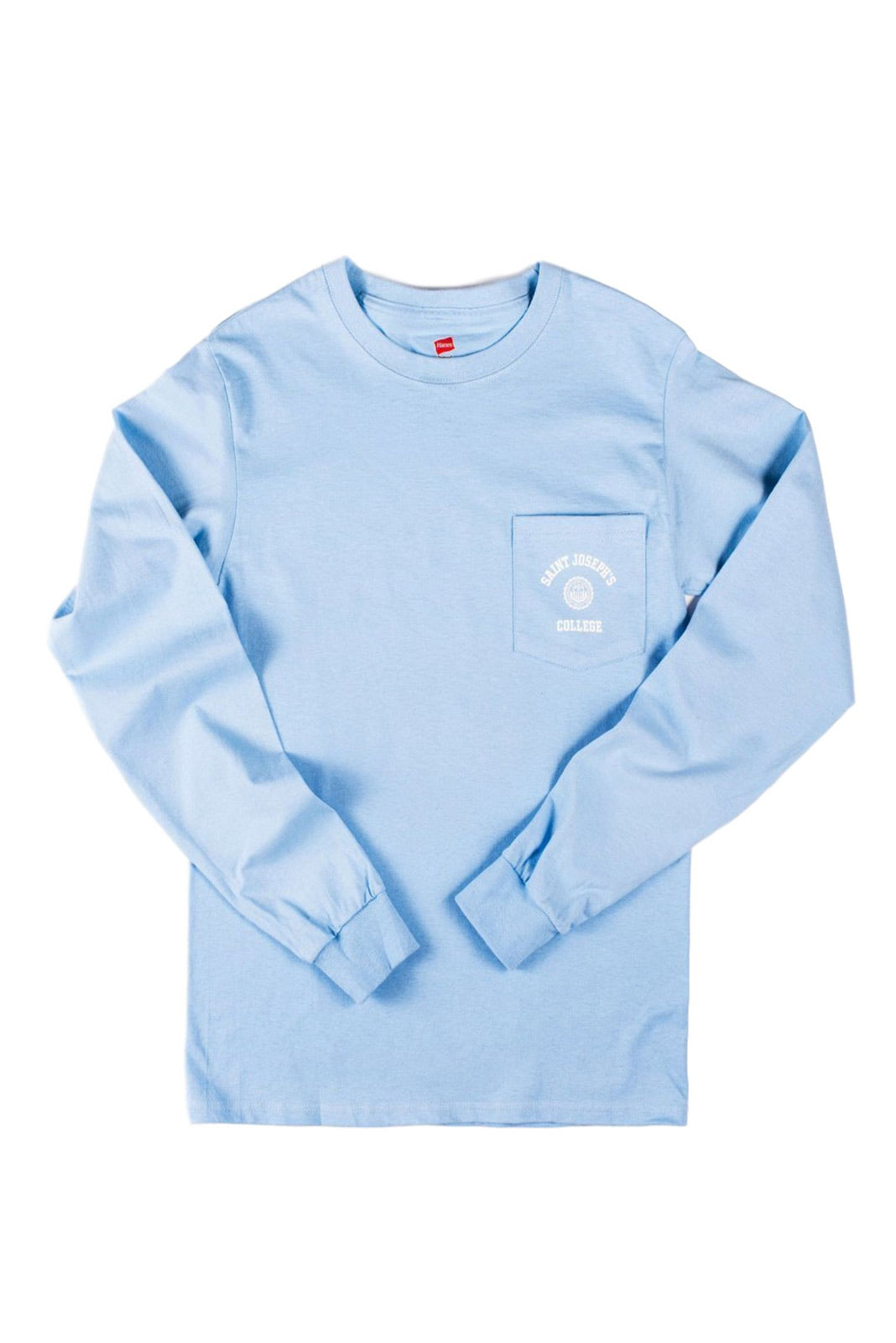 Light Blue Long Sleeve Pocket-T