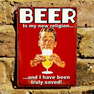 Beer is my new religion...