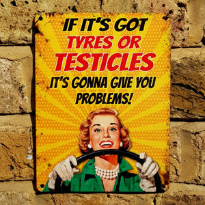 Tyres or Testicles