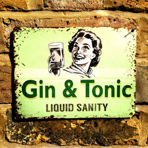 Gin and Tonic Liquid Sanity