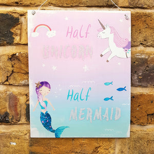 Half Unicorn, Half Mermaid