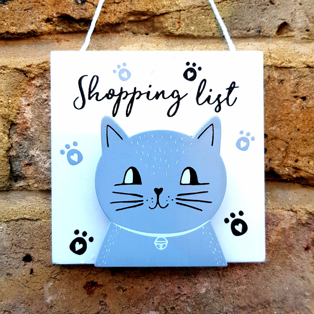 Shopping list/Cat