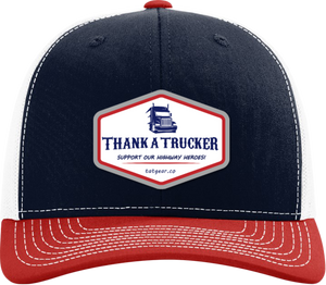 Thank A Trucker Hat - Navy