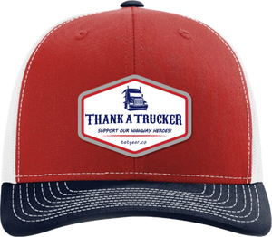 Thank A Trucker Hat - Red