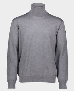 4-season Merino wool turtl neck sweater