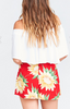 show me your mumu great wrap short - sunflower fields