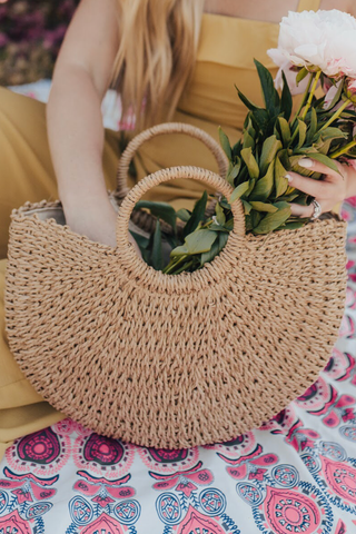 Siena Straw Bag