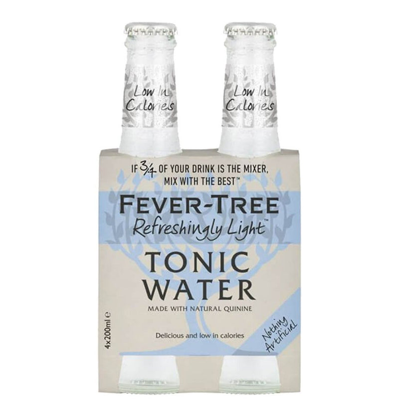 Fever Tree Refreshingly Light 20cl - 4 Bott. (5219991257223)