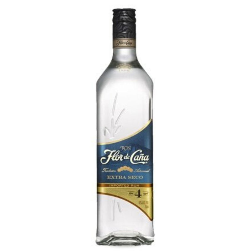Rum Extra Dry 4 Years Old Flor de Cana 100cl (5092384407687)
