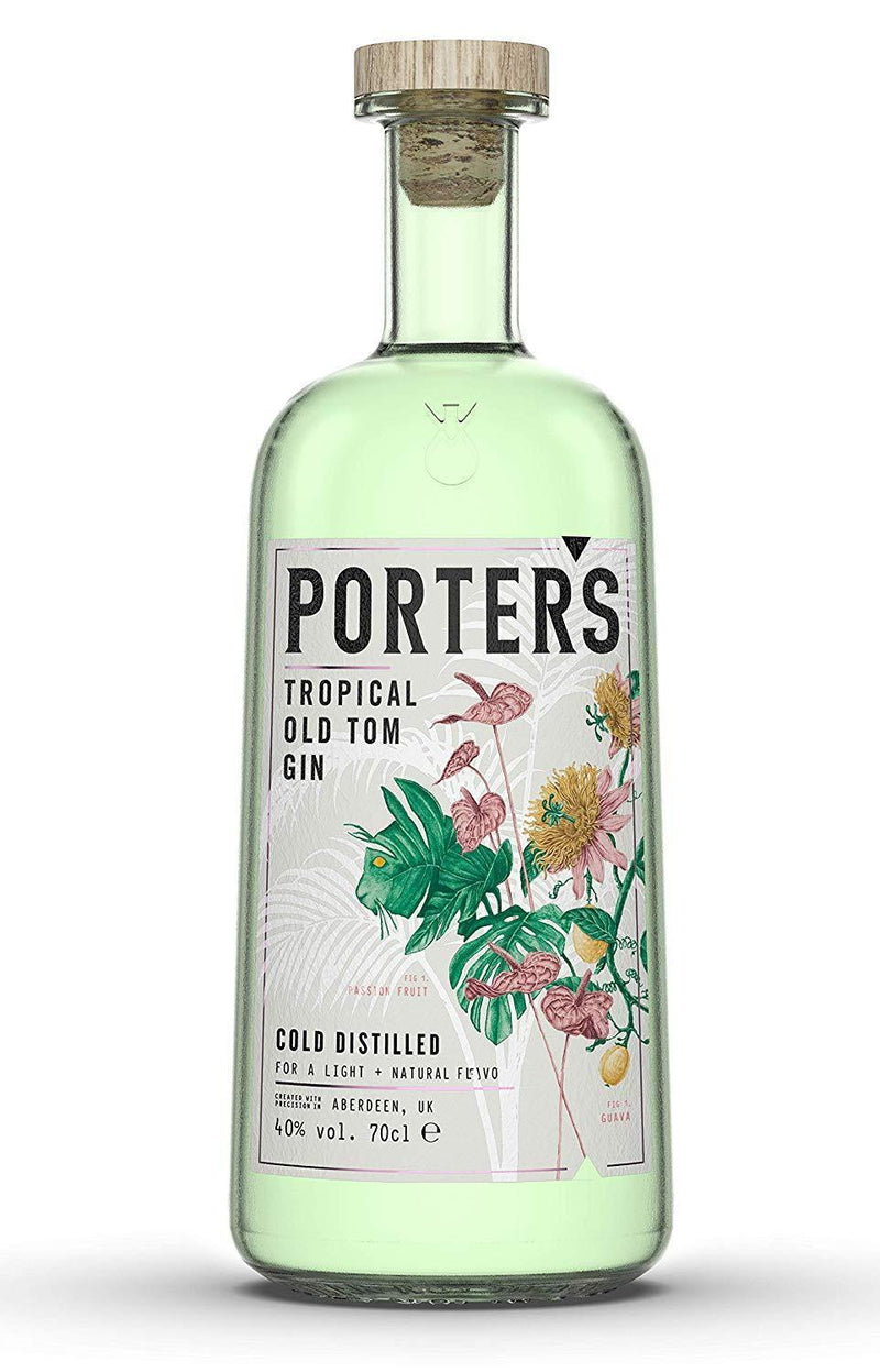 Porter's Tropical Old Tom Gin 70cl (5079650893959)