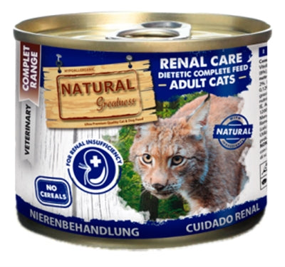 Natural greatness cat renal care dietetic junior / adult