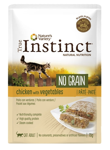 True Instinct Pouch No Grain Adult Chicken Pate