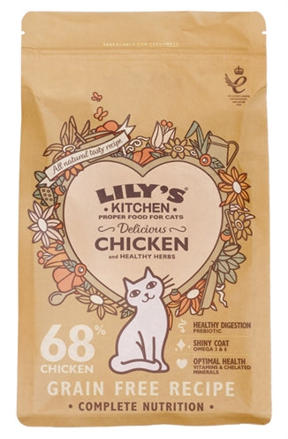Lily's kitchen cat adult chicken casserole