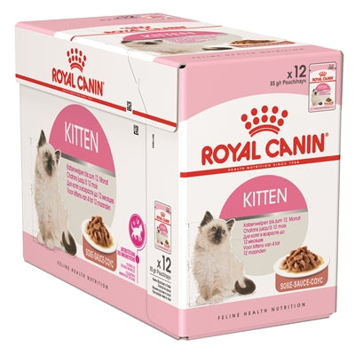 ROYAL CANIN wet kitten 12x85 gr