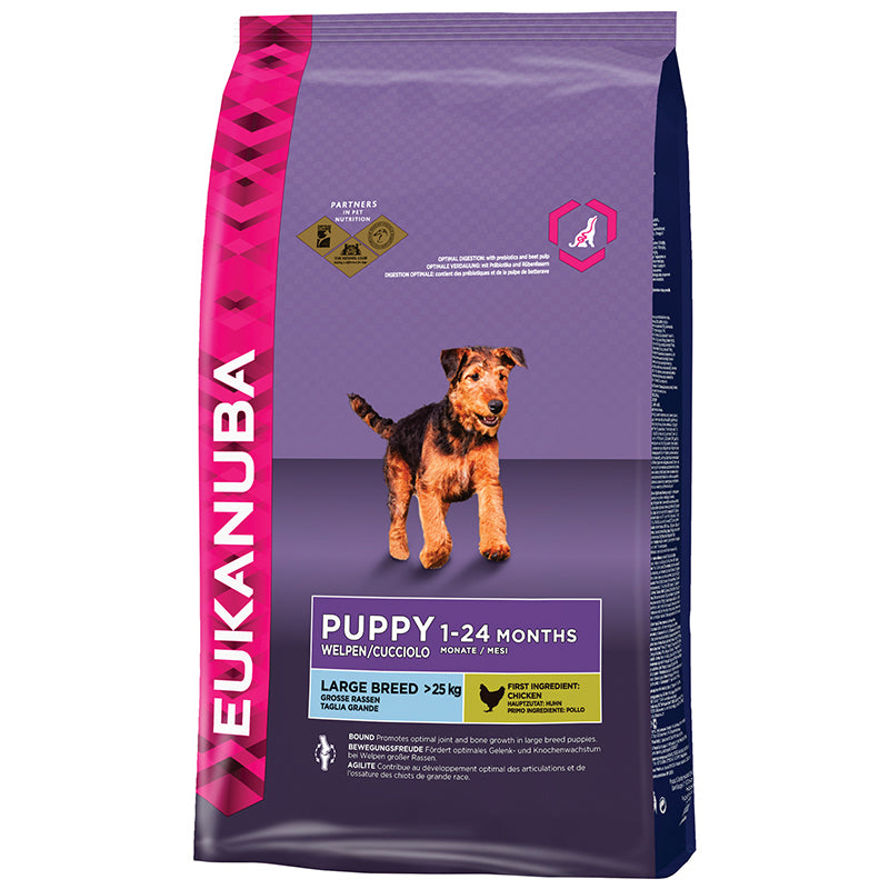 EUKANUBA - PUPPY&JUNIOR LARGE BREED KIP PUPPY