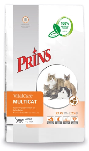 PRINS cat vital care multicat 10 kg