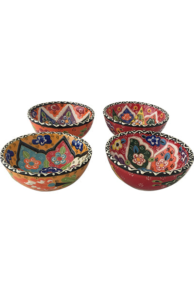 ceramic hand painted bowl