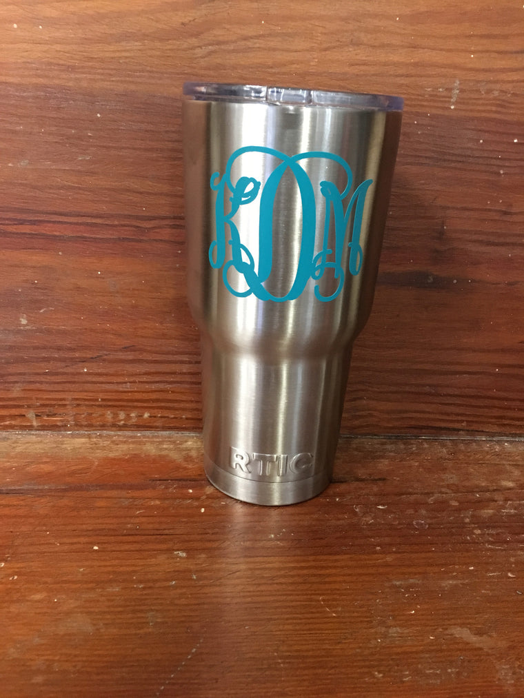STAINLESS STEEL TUMBLER- 30 OUNCE