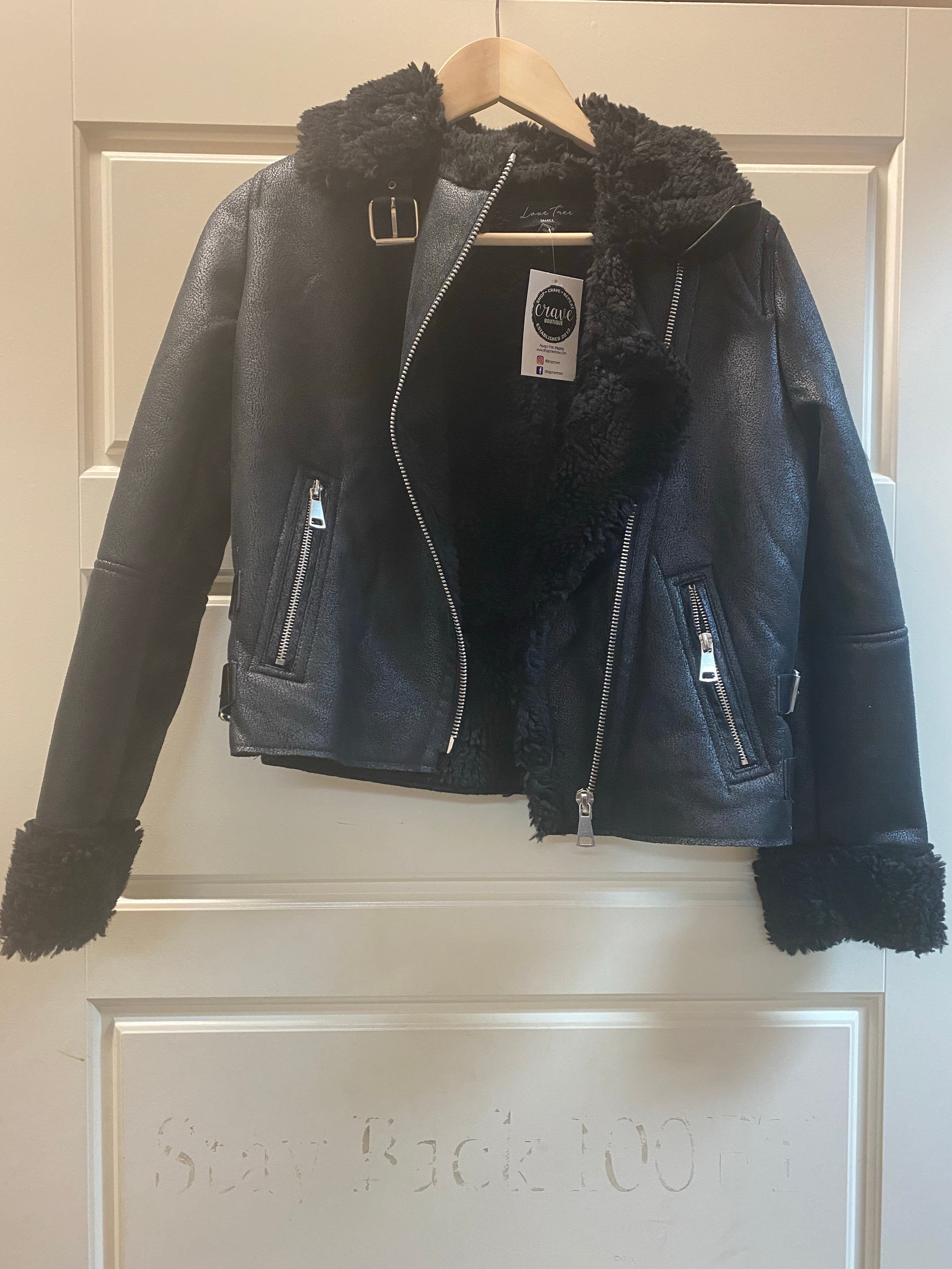 CANT STOP JACKET- BLACK