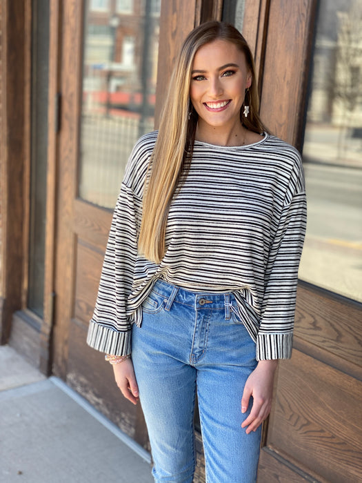 JAILBREAK STRIPED TOP